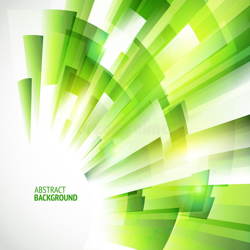 Eco friendly abstract green background royalty free illustration