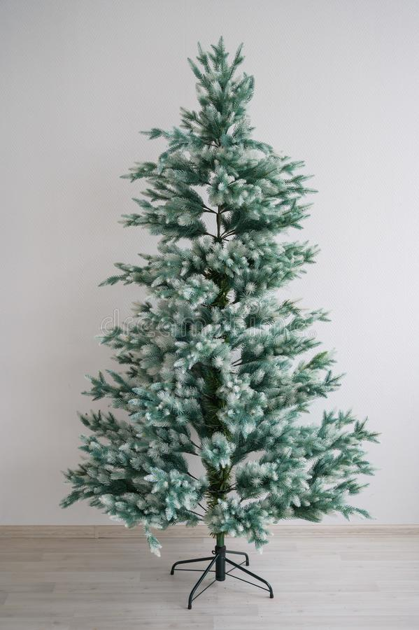 Bare Artificial Christmas Tree Stock Image - Image of ...
