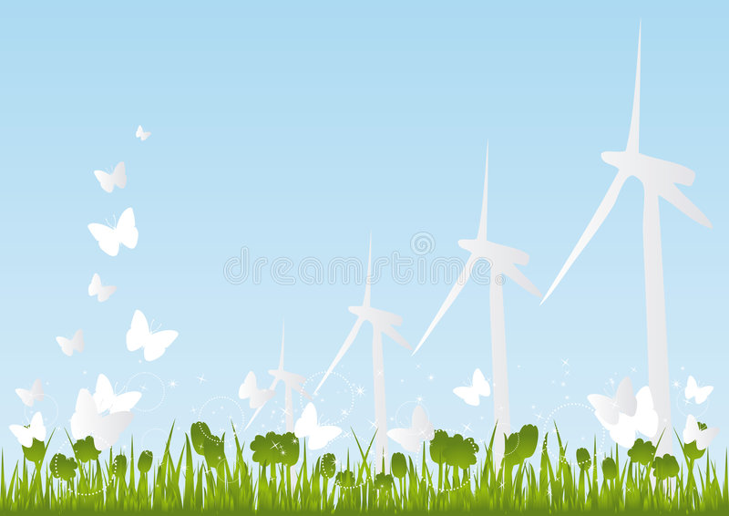Eco-Friendly Background royalty free stock photo