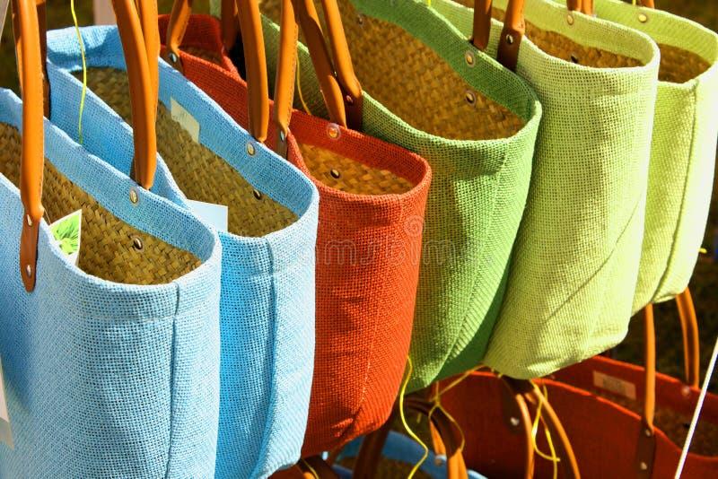 Eco friendly bags stock photo