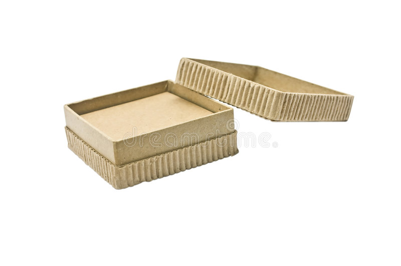 Eco-friendly Cardboard Box royalty free stock images