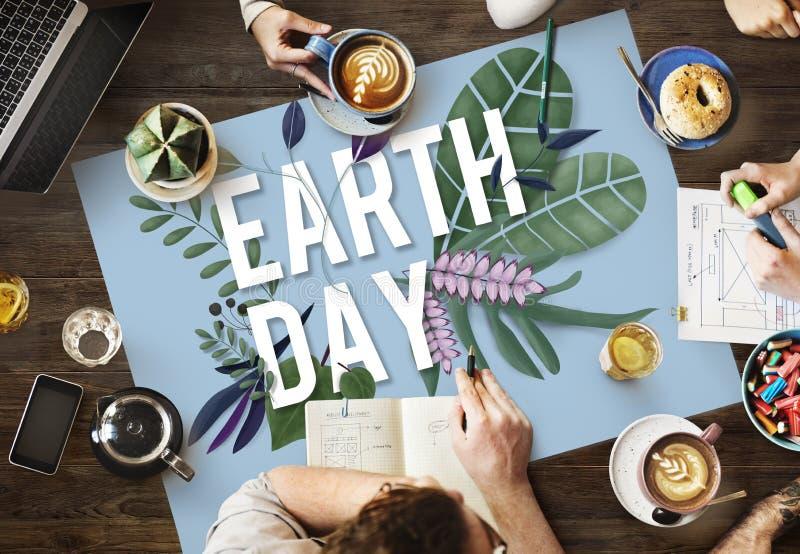 Eco Friendly Earth Day Green Environment Concept stock photos