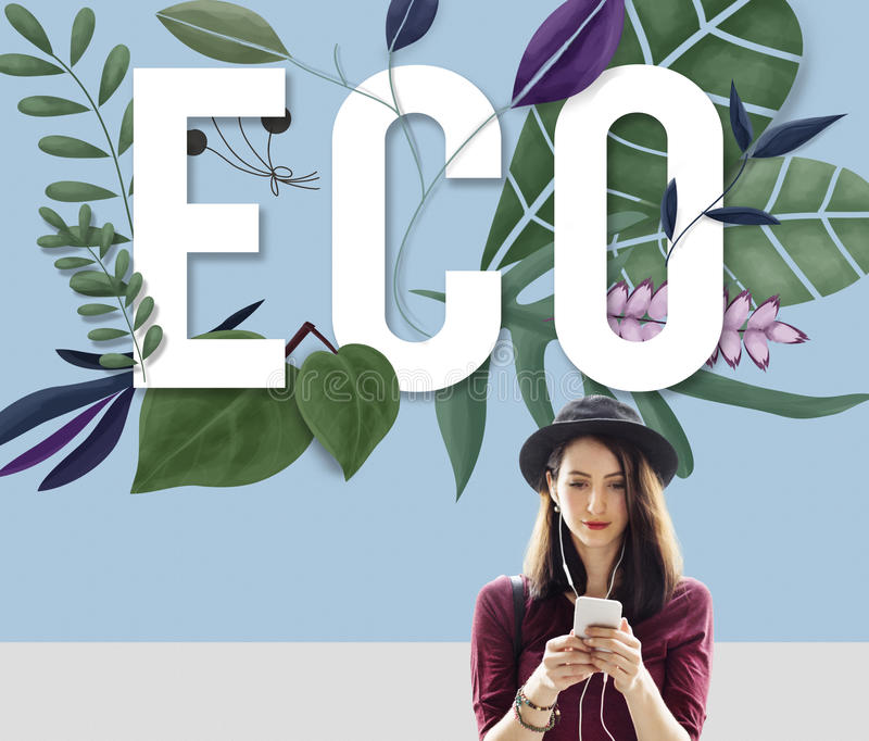 Eco Friendly Earth Day Green Environment Concept royalty free stock images