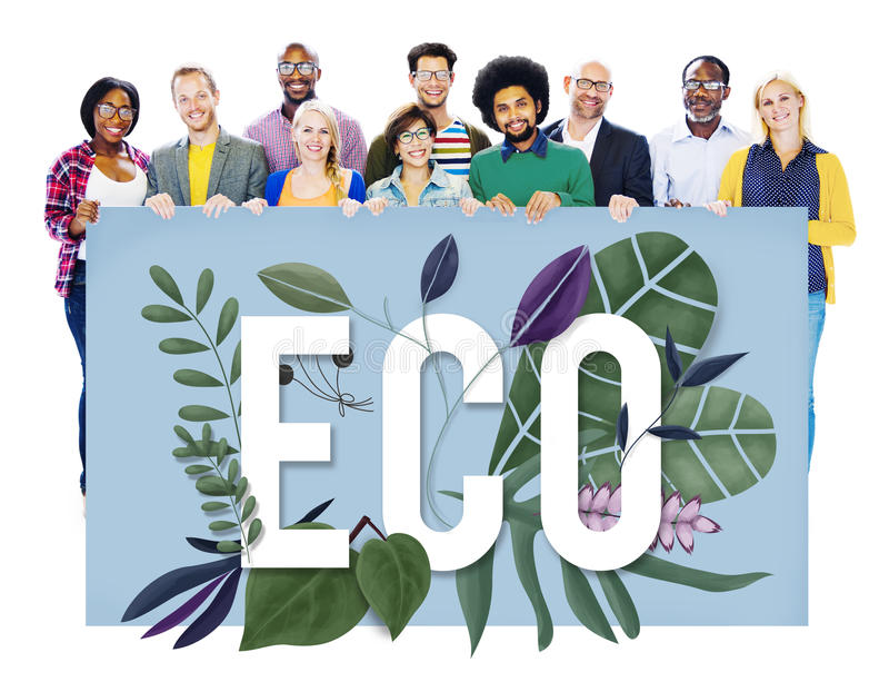 Eco Friendly Earth Day Green Environment Concept royalty free stock photos