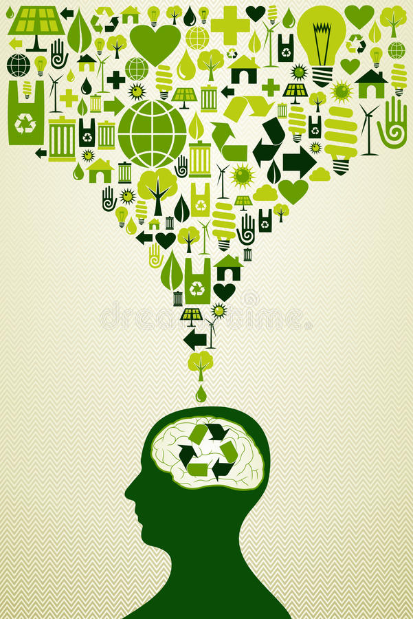 Download Eco Friendly Icons Illustration Stock Vector - Image: 32692959