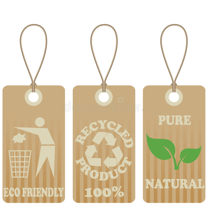 Download Eco Friendly Tags Stock Photo - Image: 17747470