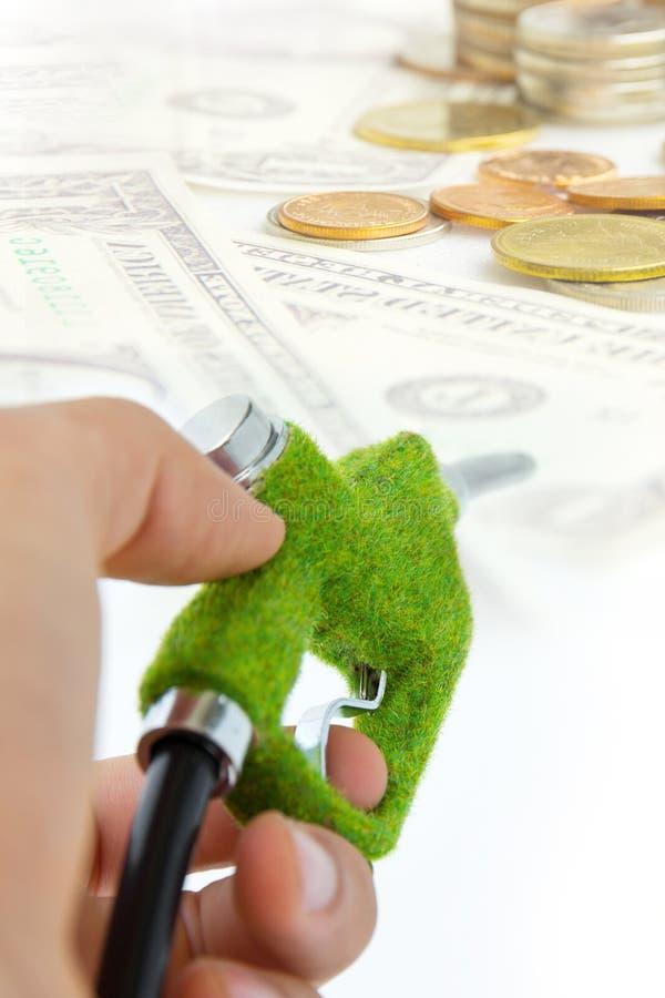 Eco Fuel Nozzle Concept Stock Photo