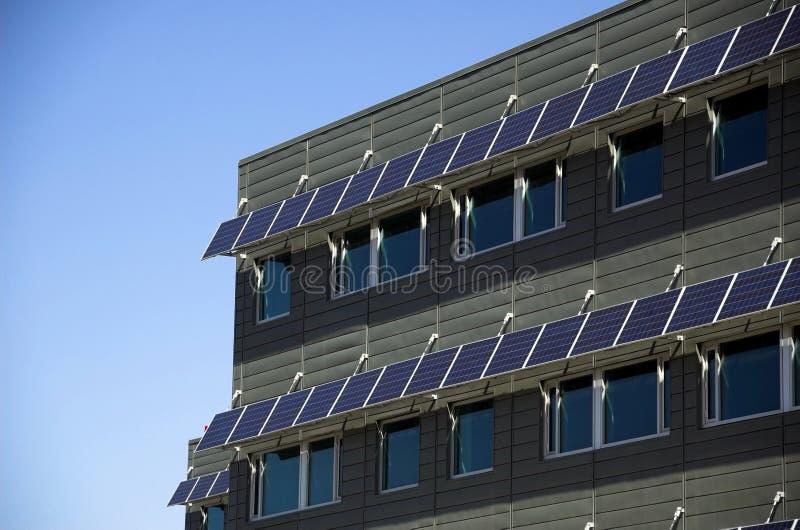Eco Gebäude lizenzfreies stockfoto