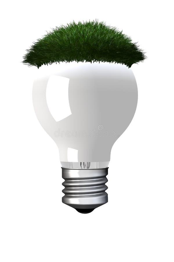 Eco Glühlampe lizenzfreie abbildung