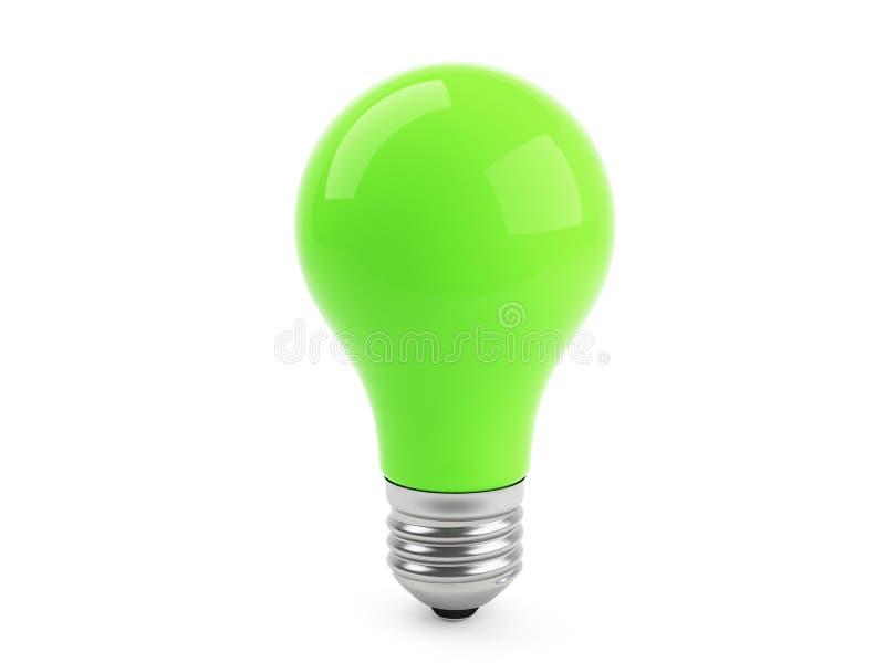 Eco grüne Lampe vektor abbildung