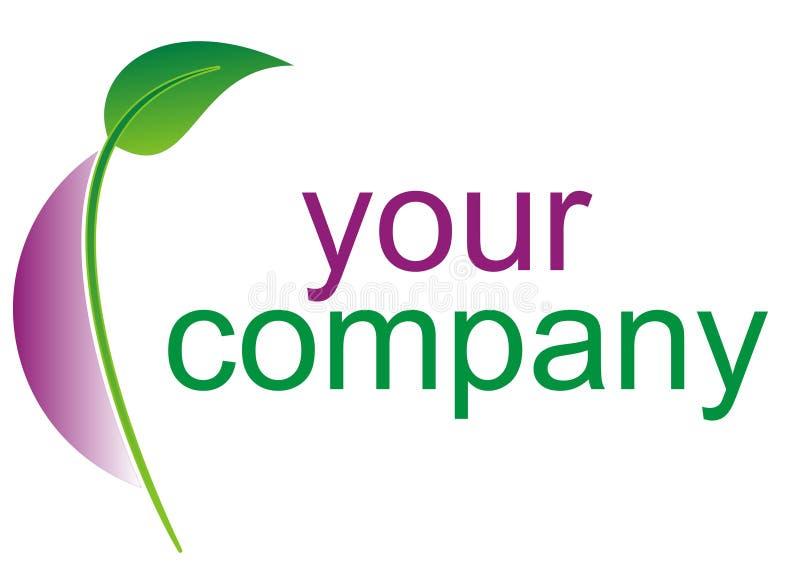 Eco grünes Zeichen stock abbildung