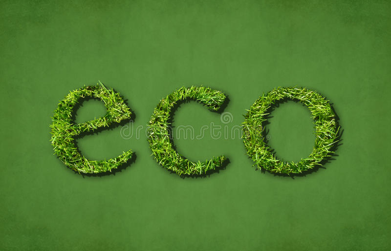 Eco (green) Royalty Free Stock Photography