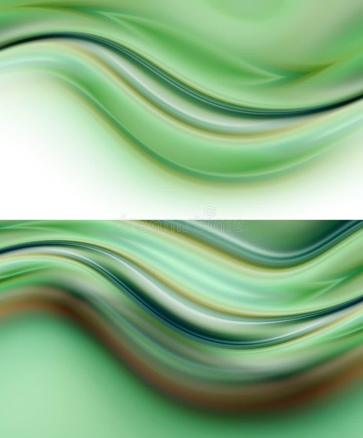 Eco Hintergründe vektor abbildung