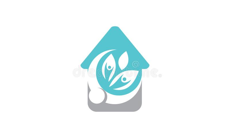 Eco Home Care royalty free illustration