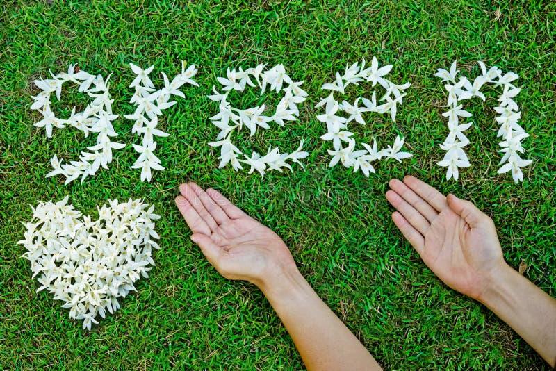 Eco iść zieleń obraz stock
