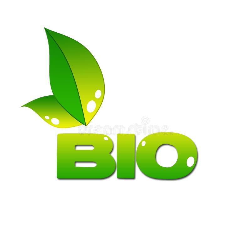 Eco icon stock image