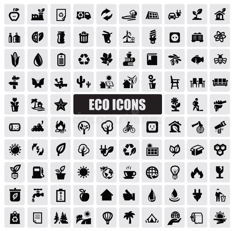 Eco icons vector illustration