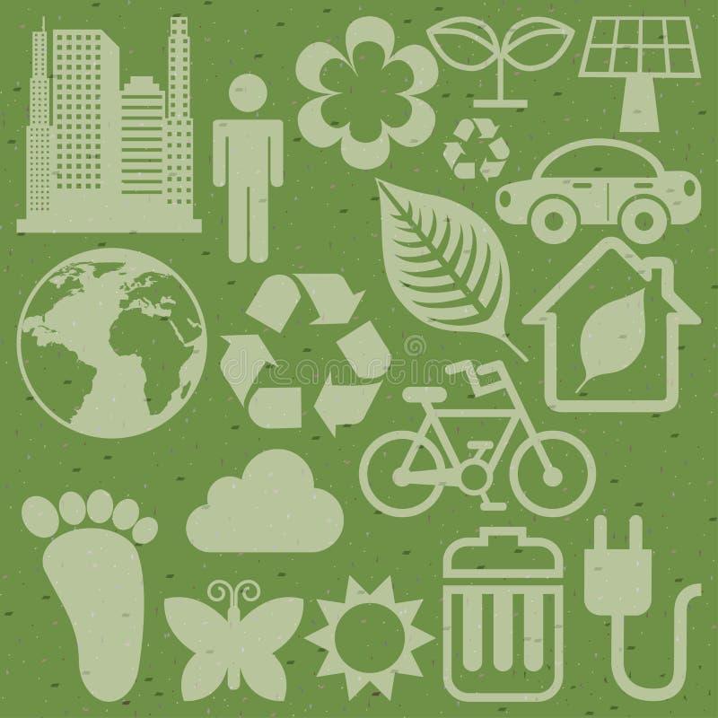Eco Icons Stock Photos