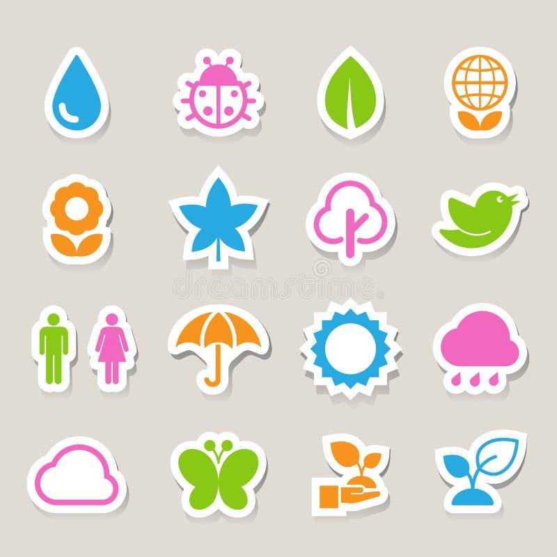 Download Eco Icons Set. Stock Photos - Image: 32407573