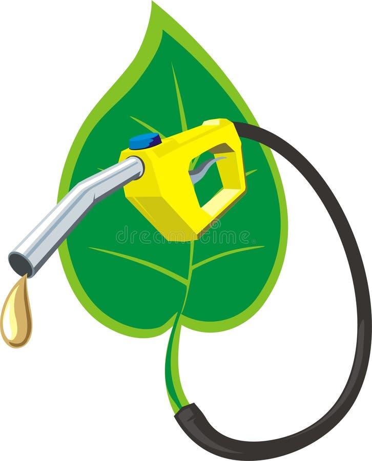 Eco Kraftstoff vektor abbildung