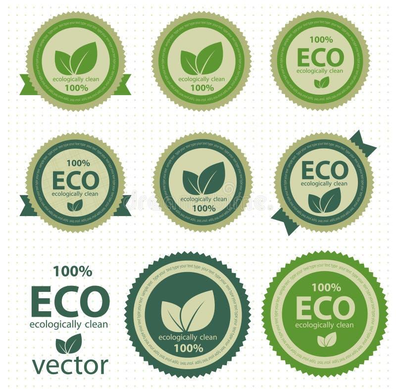 Download Eco labels. stock vector. Image of image, metal, buyer - 25365176