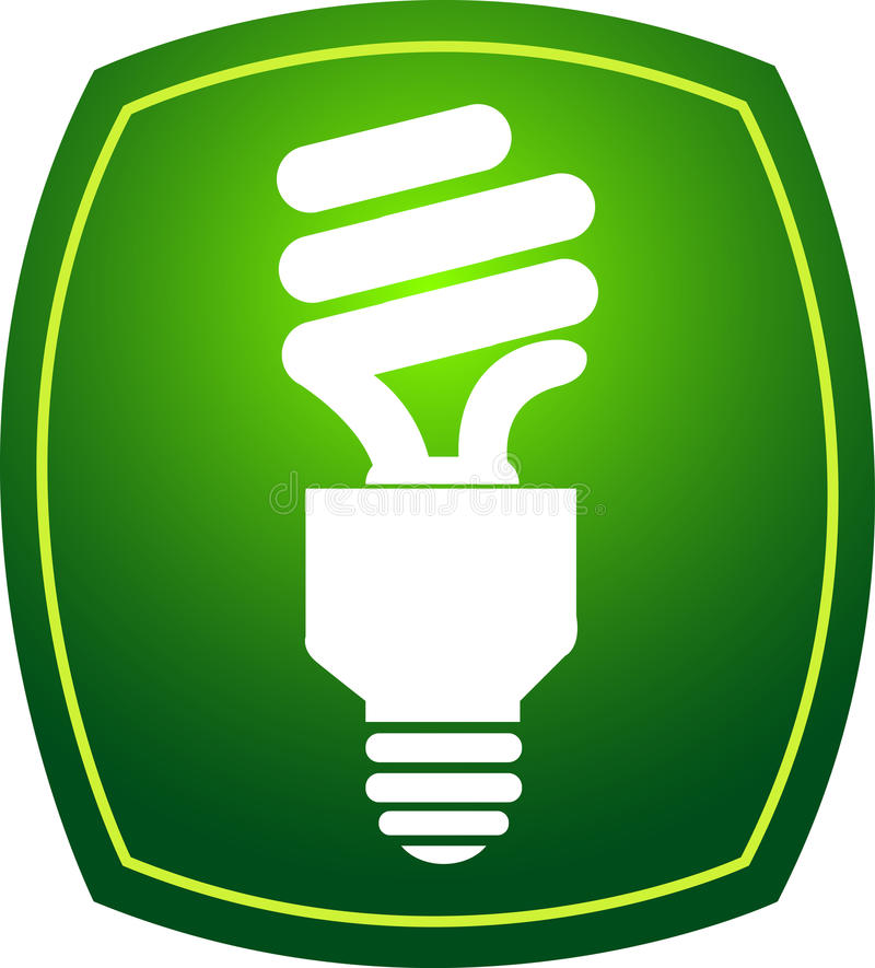 Eco Lampe Lizenzfreies Stockfoto