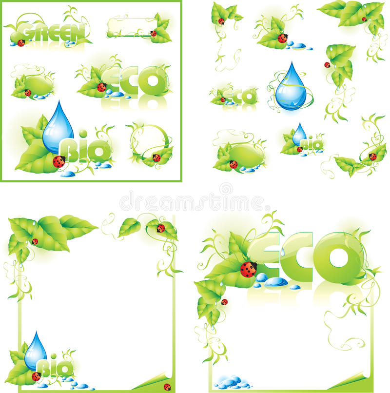 ECO layout concept design background