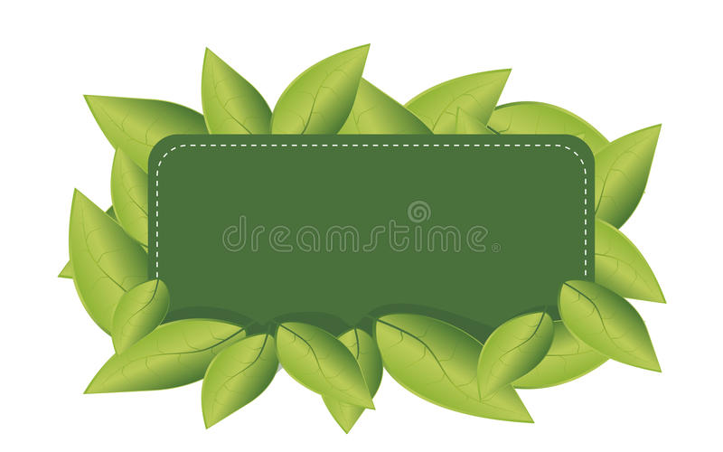 Eco Leaf Royalty Free Stock Photos