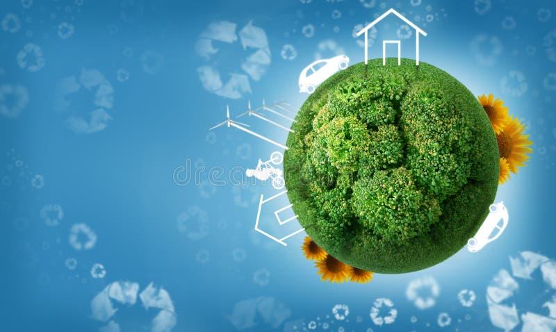Eco Leben lizenzfreie abbildung