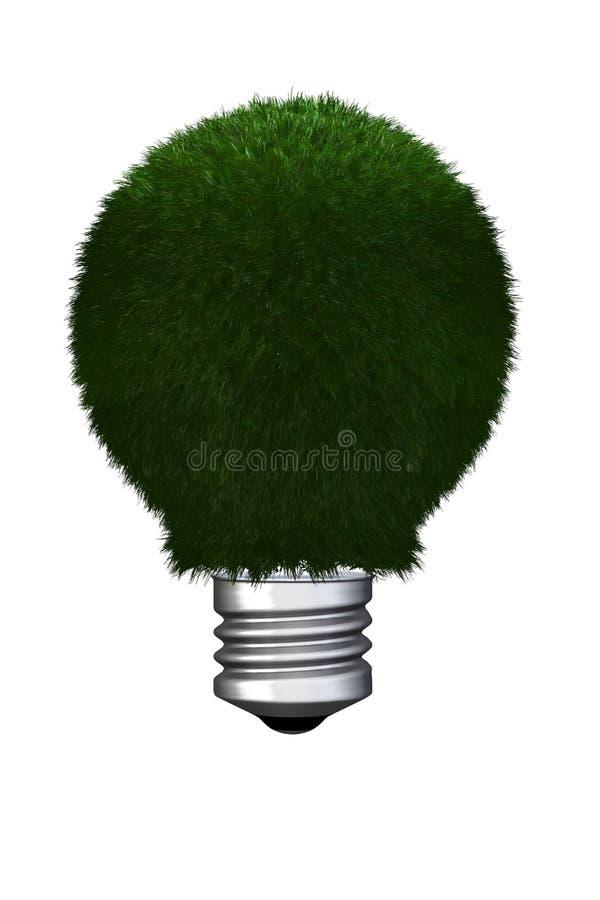 Eco light bulb royalty free stock image