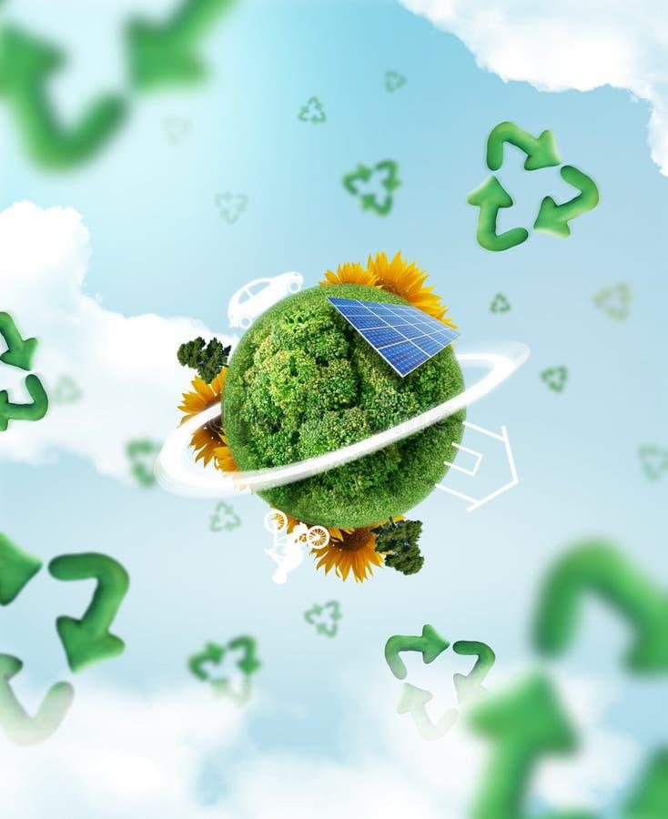 Free Eco Living Royalty Free Stock Photo - 27766945