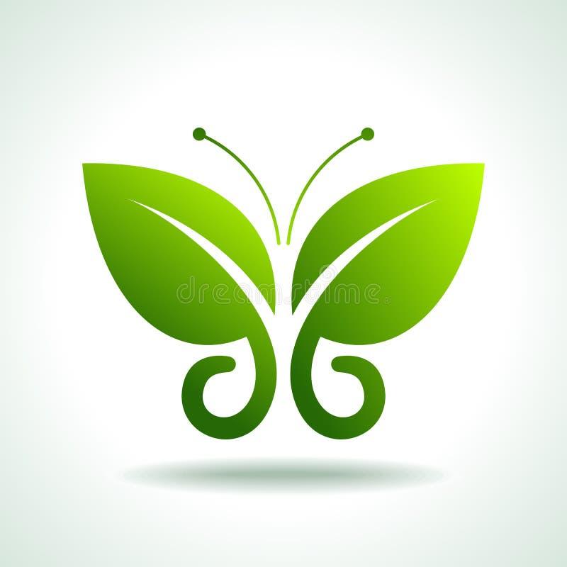 Free Eco Logo Green Butterflies, Illustration Stock Photo - 42270370