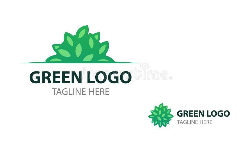 Eco Logo Mit Strauch Für Schild Und Visitenkarte Von Eco