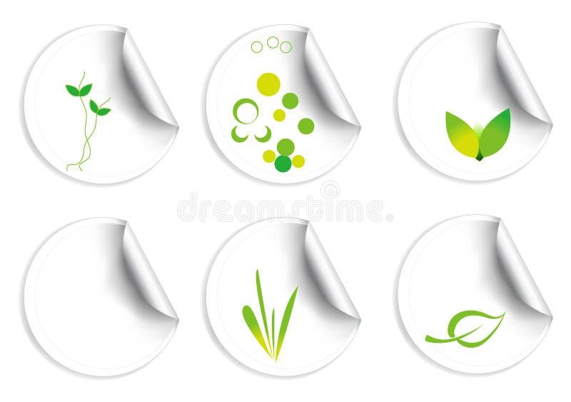 Eco Marken stockfoto