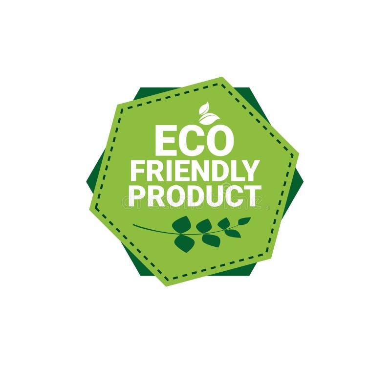 Eco Naturalnego produktu sieci ikony zieleni Życzliwy Organicznie logo ilustracji
