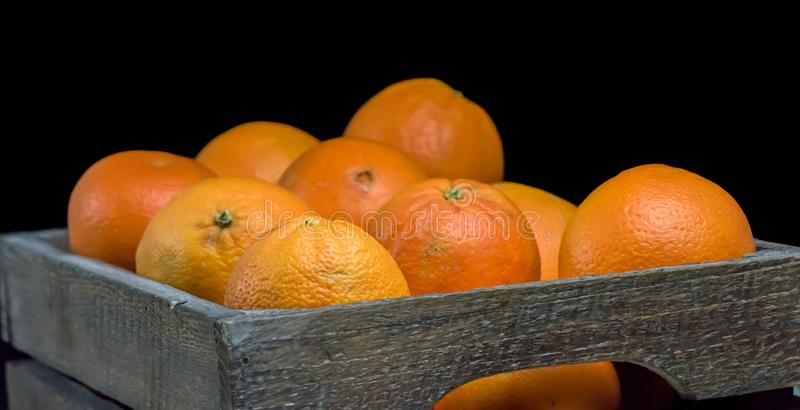 Eco-Orangen Gesunde Früchte stockfotos