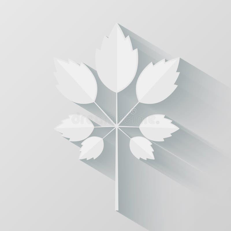 Download Eco Origami Leaf Stock Vector Illustration Of Presentation
