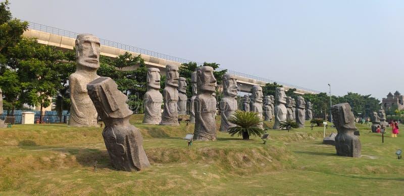 Eco park zdjęcie royalty free
