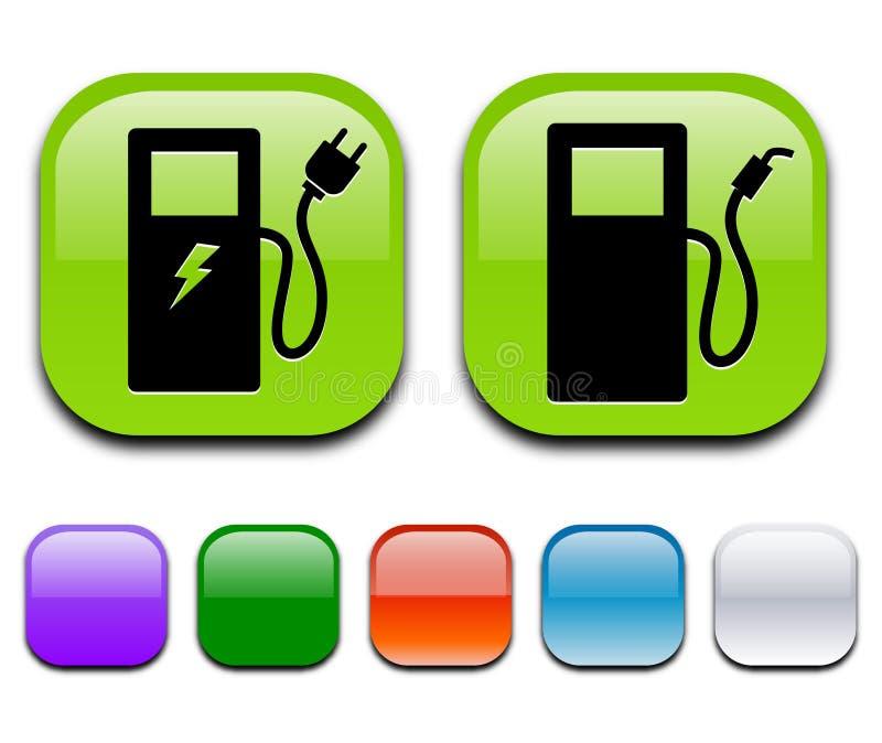 Eco pump icon stock photo