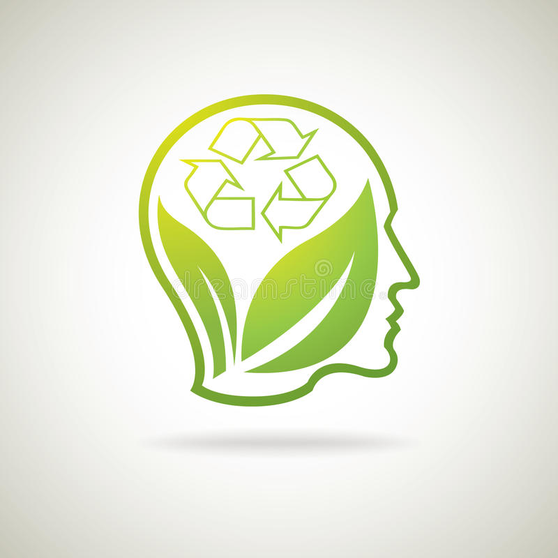 Eco recicla idea libre illustration