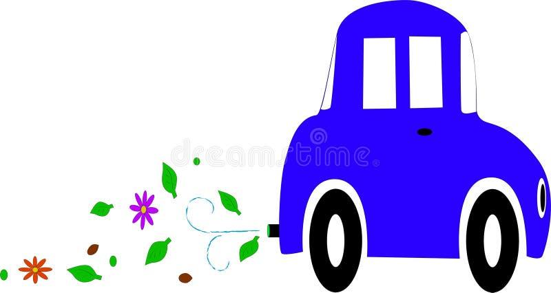 eco samochodowy royalty ilustracja