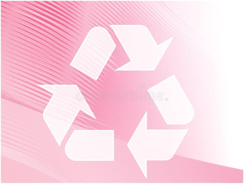 eco som återanvänder symbol vektor illustrationer