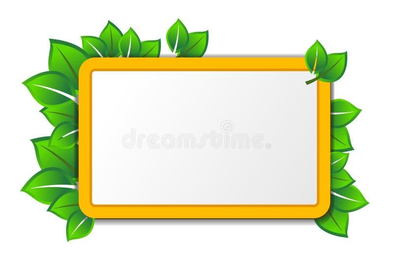 Eco Tablette lizenzfreie abbildung