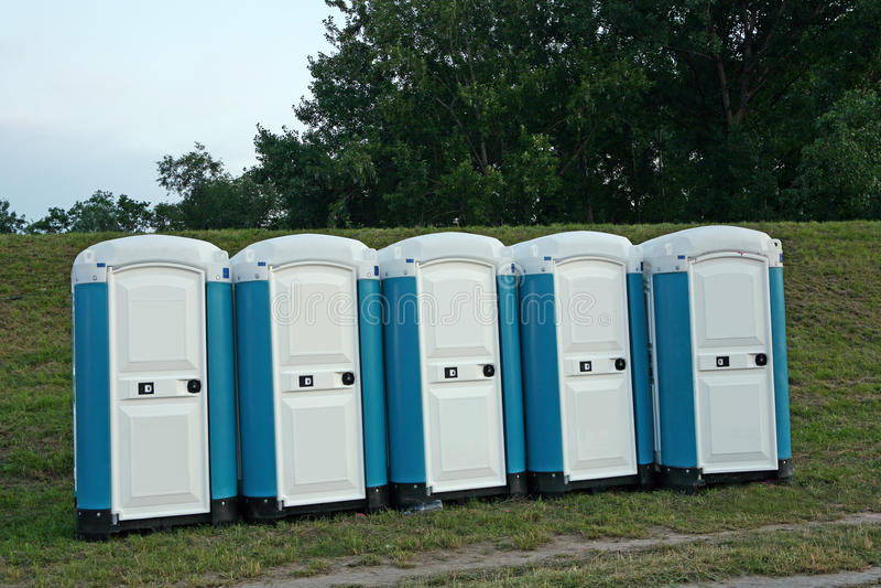 Eco Toilette stockbilder