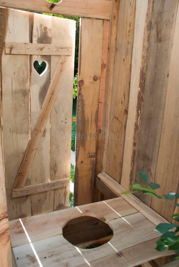 Eco-toilette photo stock