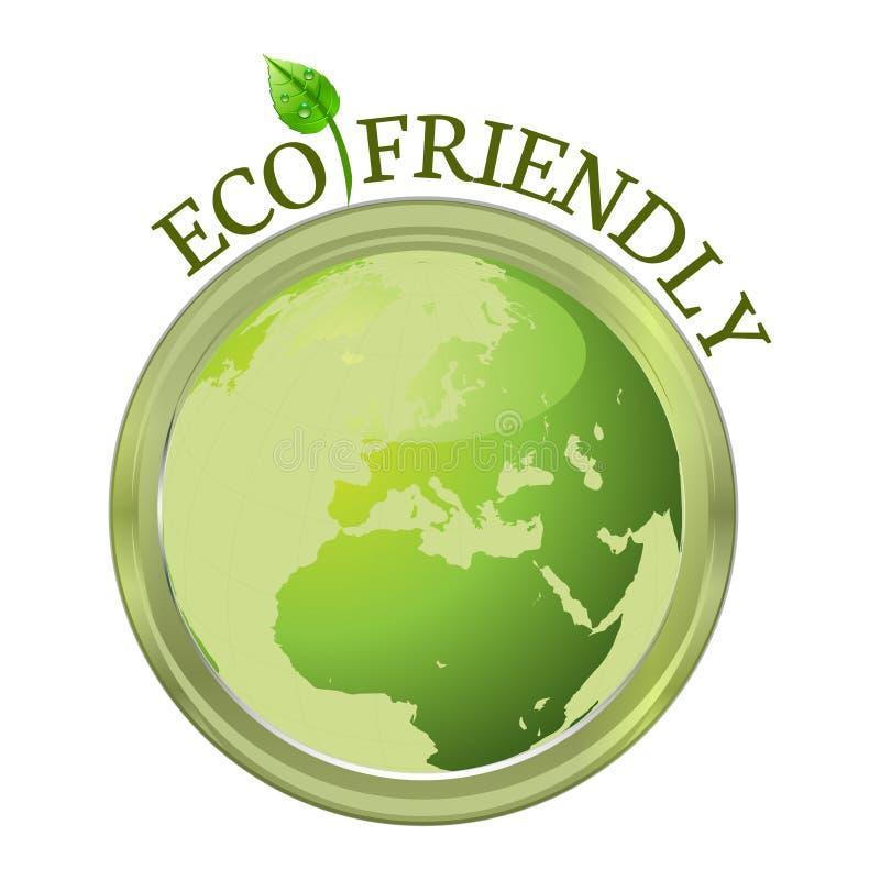 Eco vänskapsmatch vektor illustrationer