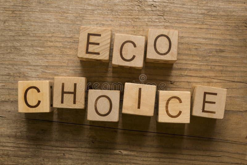 Eco val fotografering för bildbyråer