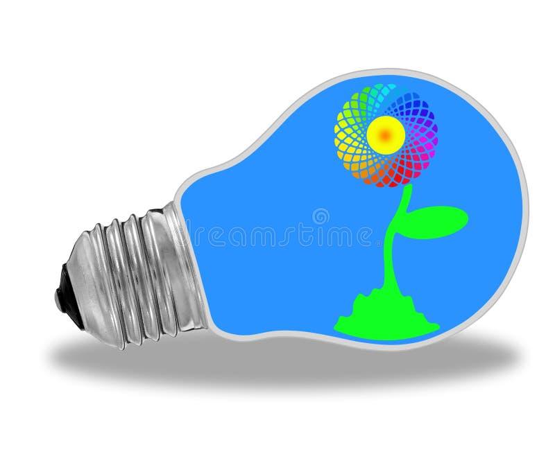 Eco władza ilustracja wektor
