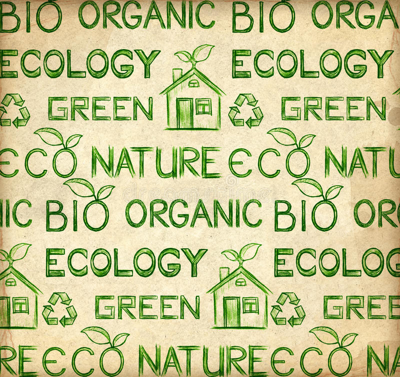 Free Eco Wallpaper Royalty Free Stock Images - 19020029