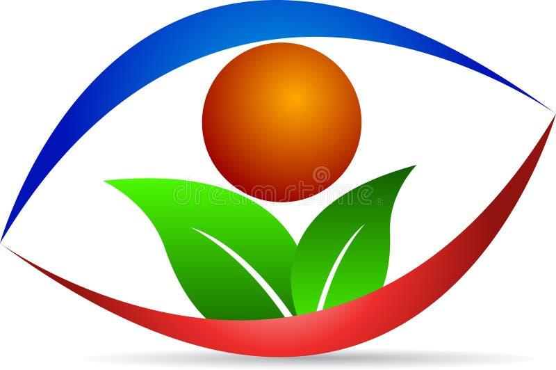 Eco wzrok ilustracja wektor